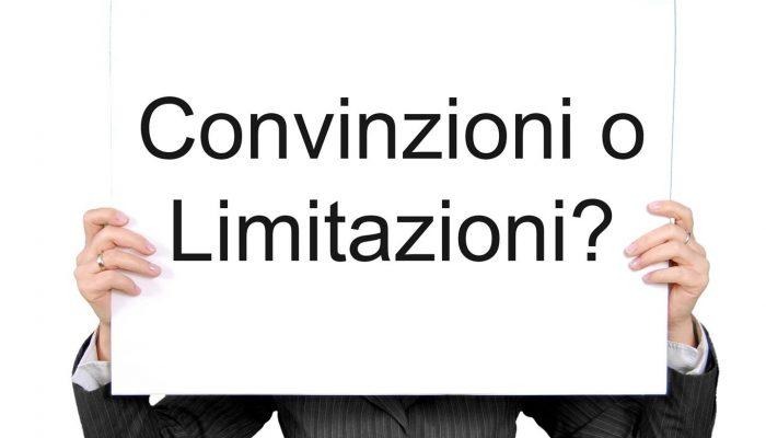 Convinzioni o Limitazioni? Chiarire il concetto in 657 parole!